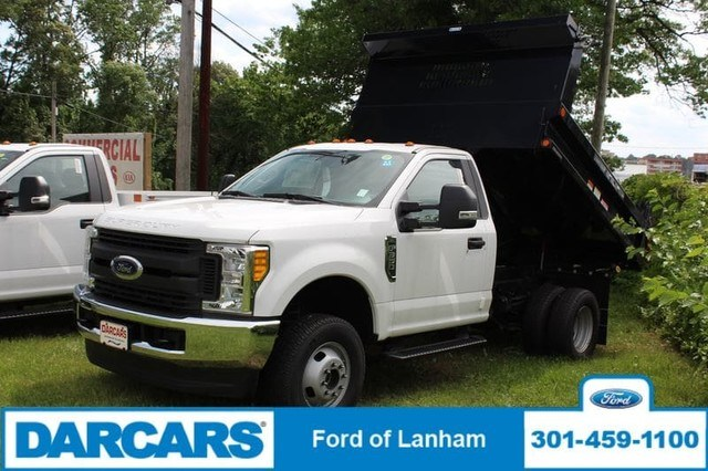 2017 F-350 Regular Cab DRW 4x4,  Reading Dump Body #277036 - photo 3