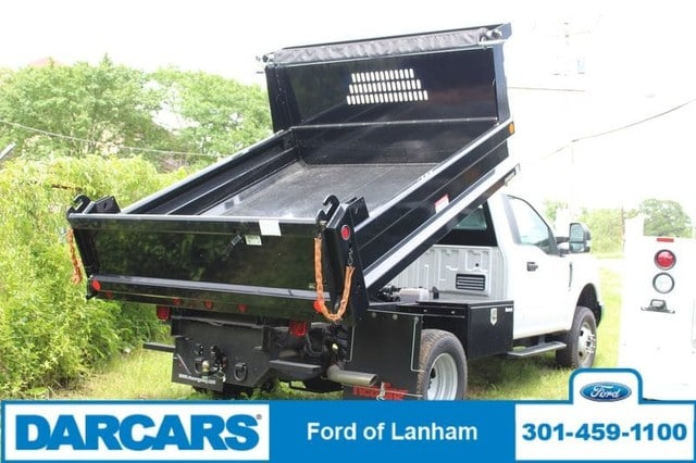 2017 F-350 Regular Cab DRW 4x4,  Reading Dump Body #277036 - photo 2