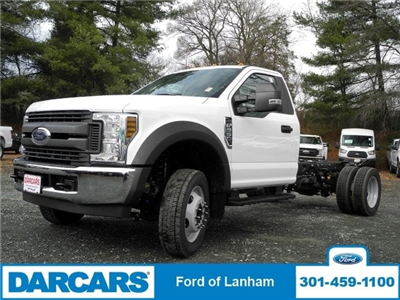2018 F-550 Regular Cab DRW 4x2,  Cab Chassis #287096 - photo 4