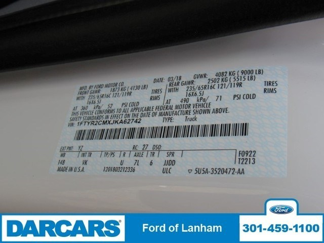 2018 Transit 250 Med Roof, Cargo Van #287515 - photo 21