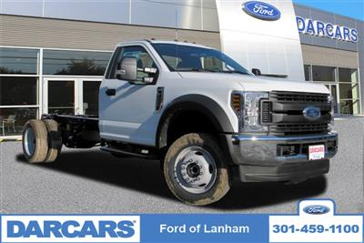 2019 F-450 Regular Cab DRW 4x4,  Cab Chassis #297069 - photo 1
