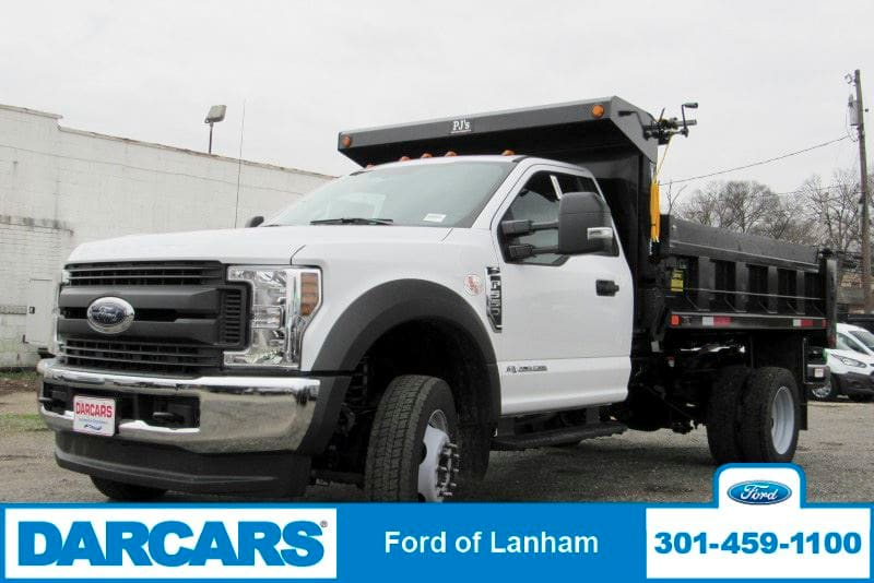 2019 F-550 Regular Cab DRW 4x4,  Godwin Dump Body #297080 - photo 3