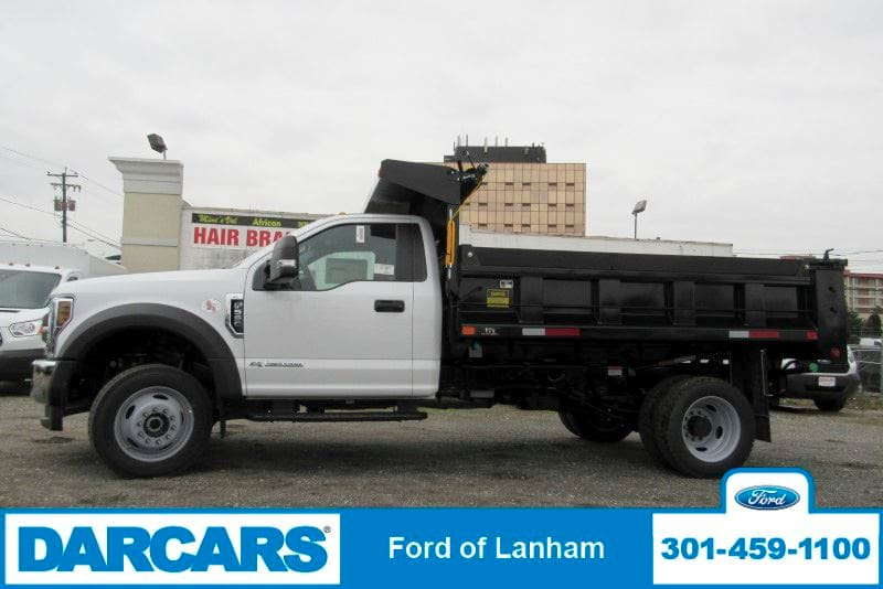 2019 F-550 Regular Cab DRW 4x4,  Godwin Dump Body #297080 - photo 4