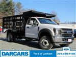 2019 F-450 Regular Cab DRW 4x2,  PJ's Truck Bodies & Equipment Stake Bed #297085 - photo 1
