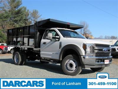 2019 F-550 Regular Cab DRW 4x2,  PJ's Landscape Dump #297092 - photo 4