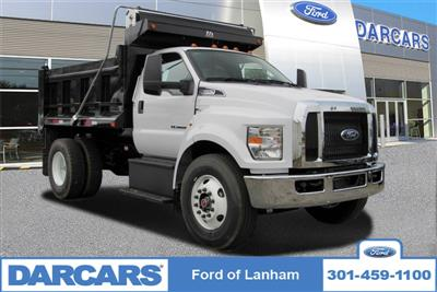 2019 F-650 Regular Cab DRW 4x2,  Godwin 300T Dump Body #297093 - photo 1