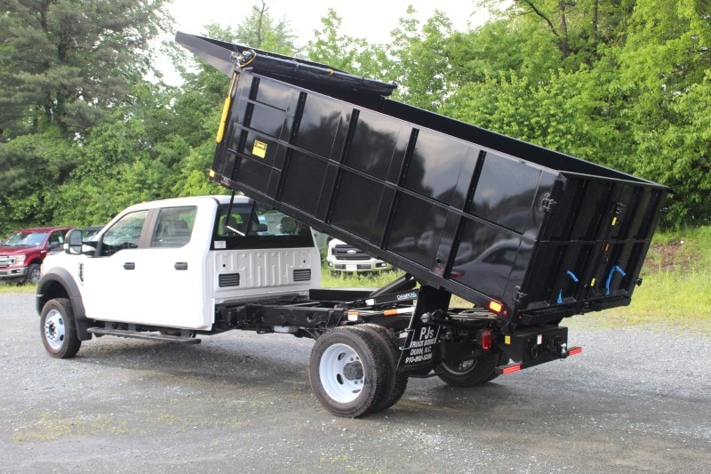 2019 F-450 Crew Cab DRW 4x2, PJ's Landscape Dump #297215 - photo 4