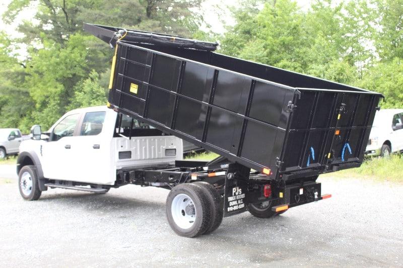 2019 F-450 Crew Cab DRW 4x4,  PJ's Landscape Dump #297216 - photo 4