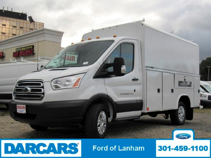 2018 Transit 350 4x2,  Reading Aluminum CSV Service Utility Van #299002 - photo 3