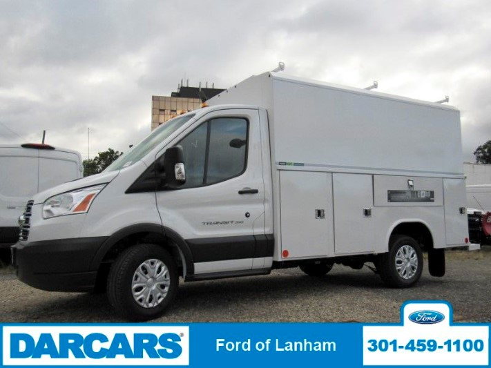 2018 Transit 350 4x2,  Reading Aluminum CSV Service Utility Van #299002 - photo 4