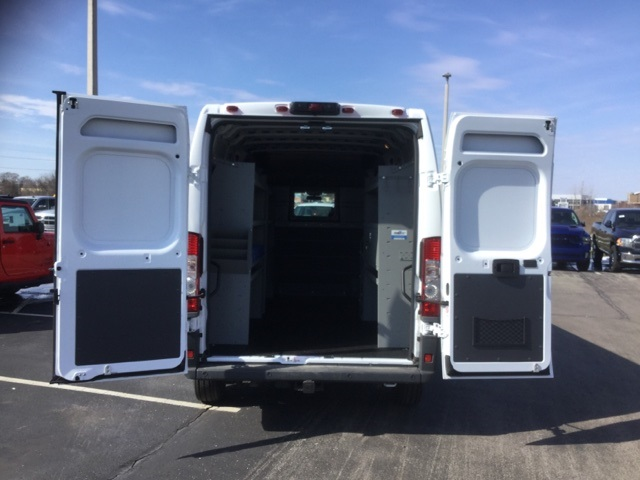 2018 ProMaster 3500 High Roof FWD,  Kargo Master Upfitted Cargo Van #18R167 - photo 15