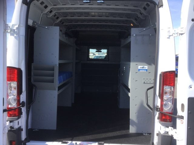 2018 ProMaster 3500 High Roof FWD,  Kargo Master Upfitted Cargo Van #18R167 - photo 2