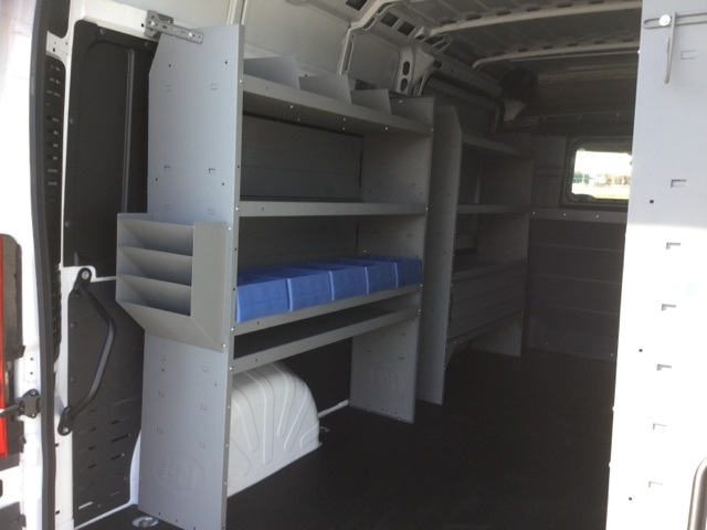 2018 ProMaster 3500 High Roof FWD,  Kargo Master Upfitted Cargo Van #18R167 - photo 16