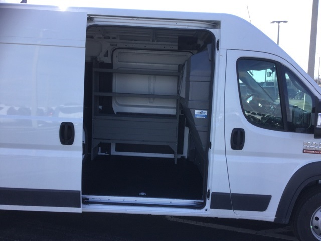 2018 ProMaster 3500 High Roof FWD,  Kargo Master Upfitted Cargo Van #18R167 - photo 19