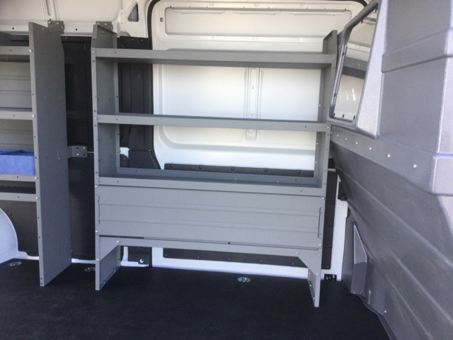 2018 ProMaster 3500 High Roof FWD,  Kargo Master Upfitted Cargo Van #18R167 - photo 20
