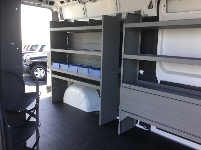 2018 ProMaster 3500 High Roof FWD,  Kargo Master Upfitted Cargo Van #18R167 - photo 21