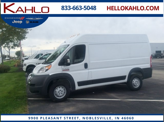 2018 ProMaster 2500 High Roof 4x2,  Empty Cargo Van #18R20 - photo 1