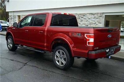 2018 F-150 SuperCrew Cab 4x4,  Pickup #T18185 - photo 4