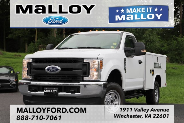 2018 F-250 Regular Cab 4x4,  Reading Classic II Steel Service Body #T2875 - photo 1