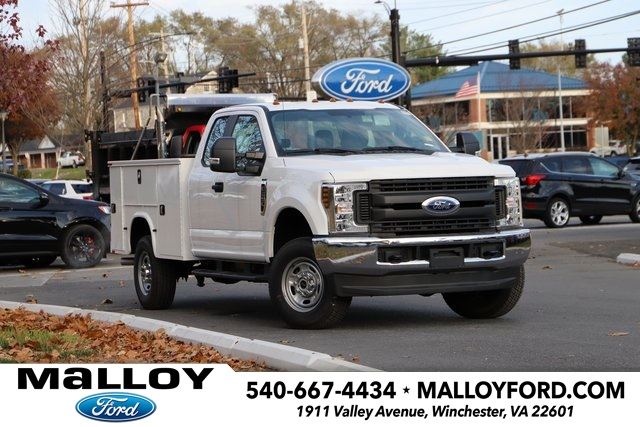 NEW 2019 FORD F-250 XL SUPER CAB CHASSIS TRUCK #667927