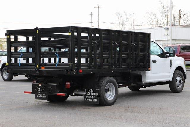 2021 Ford F-350 Regular Cab DRW 4x2, PJ's Stake Bed #T3138 - photo 5
