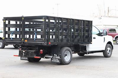2021 Ford F-350 Regular Cab DRW 4x2, PJ's Stake Bed #T3138 - photo 2