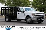 2021 Ford F-350 Regular Cab DRW 4x2, PJ's Stake Bed #T3138 - photo 1