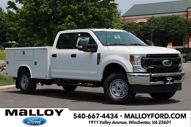 2021 Ford F-350 Crew Cab 4x4, 9FT Reading Service Body  #T3148 - photo 1