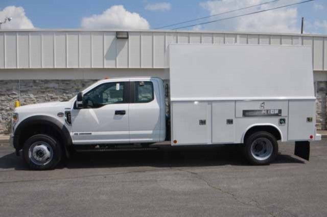 2018 F-450 Super Cab DRW 4x4,  Reading Panel and Tapered Panel Body Service Utility Van #T3829 - photo 7