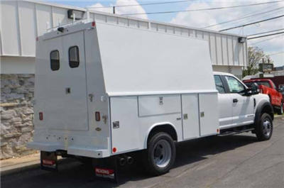 2018 F-450 Super Cab DRW 4x4,  Reading Panel and Tapered Panel Body Service Utility Van #T3829 - photo 2