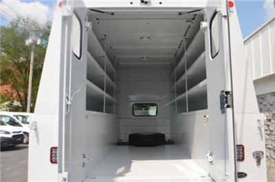 2018 F-450 Super Cab DRW 4x4,  Reading Panel and Tapered Panel Body Service Utility Van #T3829 - photo 18