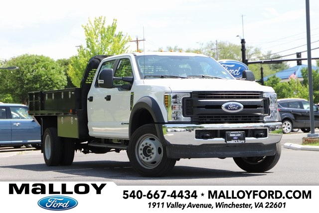 NEW 2019 FORD F-450 XL CREW CAB CHASSIS TRUCK #632165