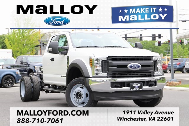 NEW 2019 FORD F-450 XL SUPER CAB CHASSIS TRUCK #632833