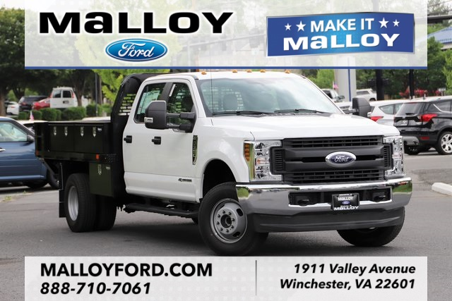 NEW 2019 FORD F-350 XL CREW CAB CHASSIS TRUCK #635699