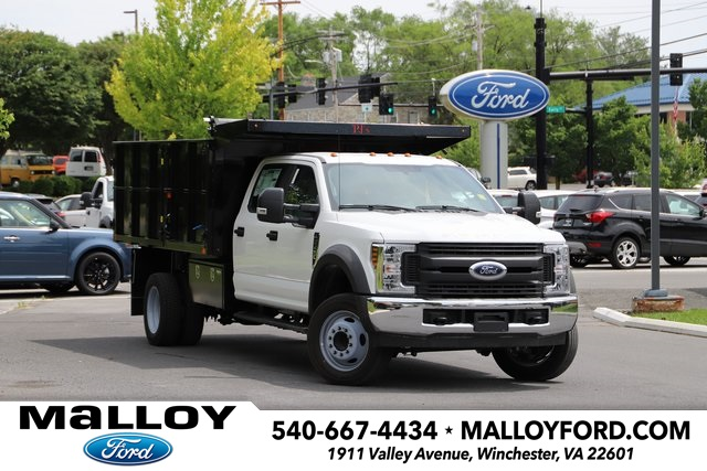 NEW 2019 FORD F-450 XL CREW CAB CHASSIS TRUCK #635703