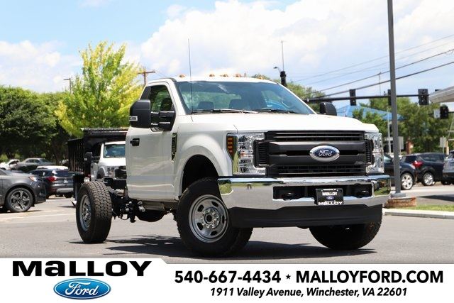 NEW 2019 FORD F-350 XL REGULAR CAB CHASSIS TRUCK #638940