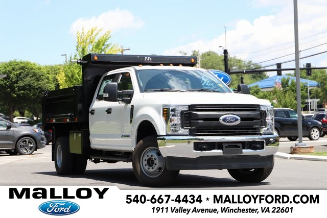 NEW 2019 FORD F-350 XL CREW CAB CHASSIS TRUCK #638939