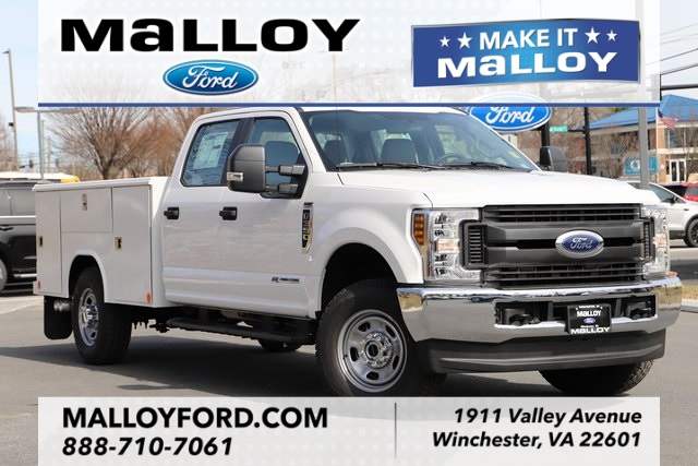 NEW 2019 FORD F-350 XL CREW CAB CHASSIS TRUCK #622617