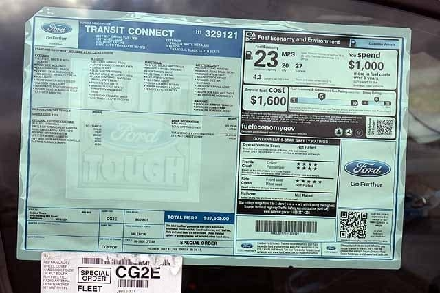 2017 Transit Connect, Cargo Van #T4725 - photo 3