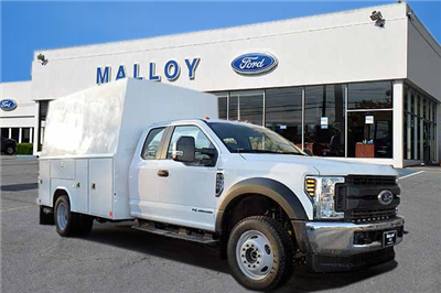 2018 F-550 Super Cab DRW 4x4,  Reading Panel and Tapered Panel Service Utility Van #T7806 - photo 1