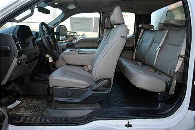 2018 F-550 Super Cab DRW 4x4,  Reading Panel and Tapered Panel Service Utility Van #T7806 - photo 15