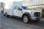 2018 F-550 Super Cab DRW 4x4,  Reading Panel and Tapered Panel Service Utility Van #T7806 - photo 3