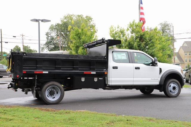 2018 F-550 Crew Cab DRW 4x2,  Godwin Manufacturing Co. 184U Dump Body #T7810 - photo 5