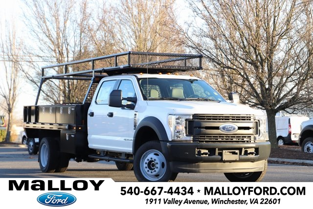 NEW 2019 FORD F-550 XL CREW CAB CHASSIS TRUCK #623930