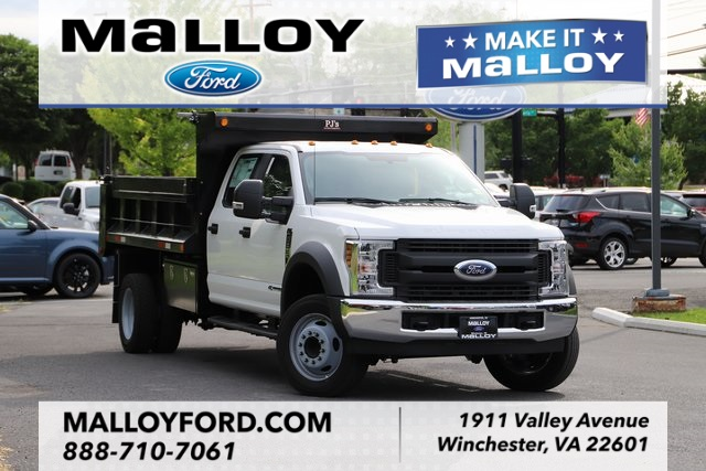 NEW 2019 FORD F-550 XL CREW CAB CHASSIS TRUCK #635019