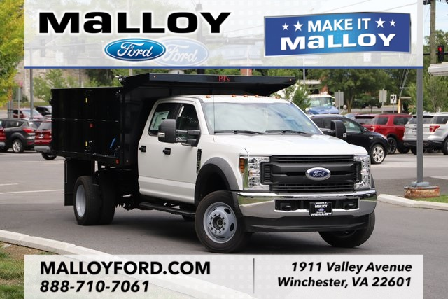 NEW 2019 FORD F-550 XL CREW CAB CHASSIS TRUCK #636492