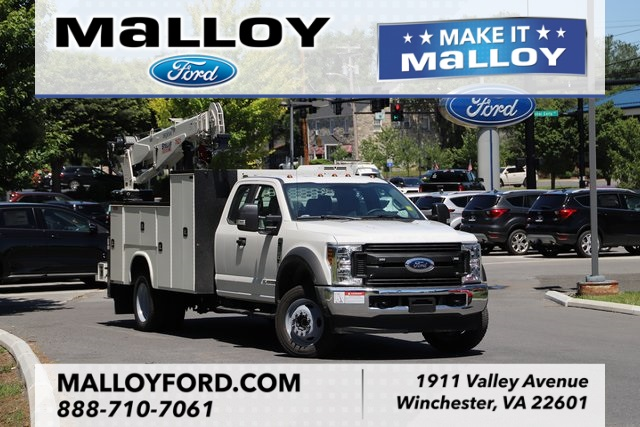 NEW 2019 FORD F-550 XL SUPER CAB CHASSIS TRUCK #638131