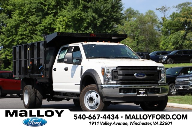 NEW 2019 FORD F-550 XL CREW CAB CHASSIS TRUCK #638428