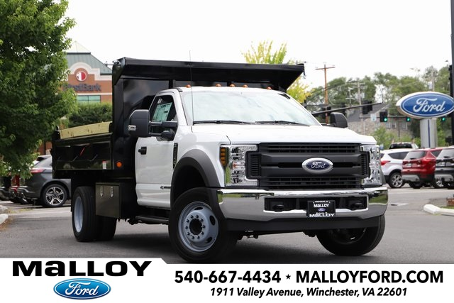 NEW 2019 FORD F-550 XL REGULAR CAB CHASSIS TRUCK #640342
