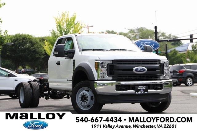 NEW 2019 FORD F-550 XL SUPER CAB CHASSIS TRUCK #643692